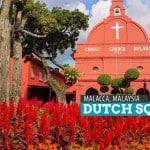 The Dutch Square in Malacca, Malaysia