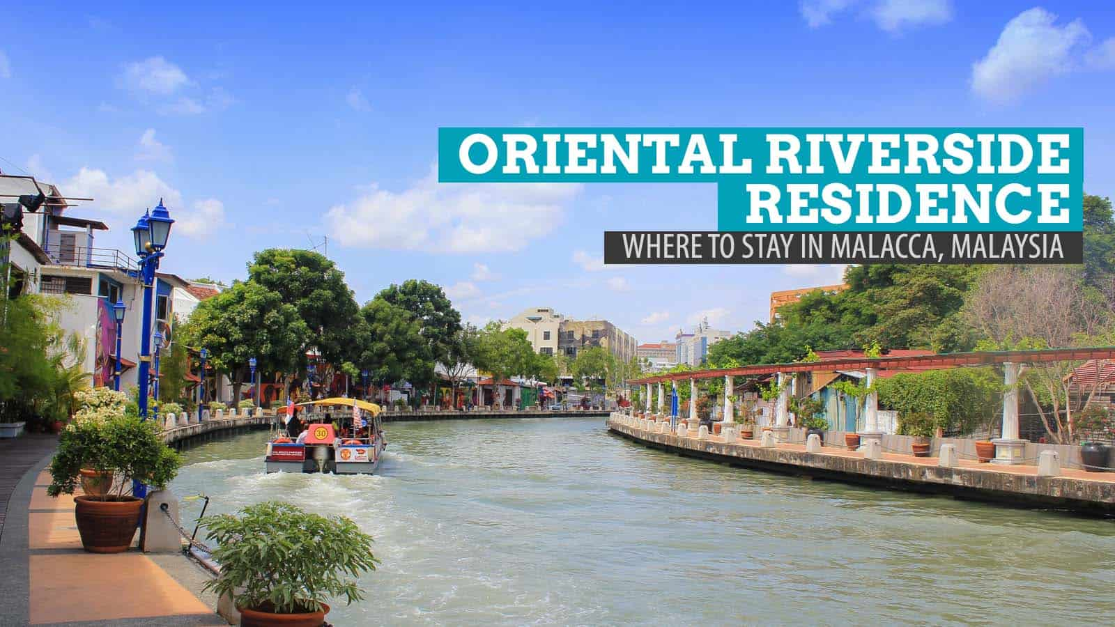 Oriental Riverside Residence Guest House in Malacca, Malaysia