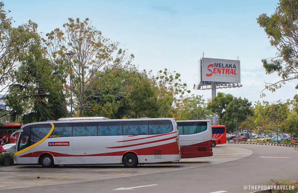 Melaka Sentral (Malacca Central Bus Terminal)