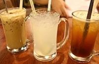 Lao San Cafe drinks