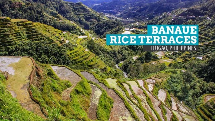 Banaue Rice Terraces in Ifugao, Philippines