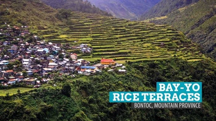 The Bay-yo Rice Terraces and the Mysterious Waterfall: Bontoc, Mountain Province