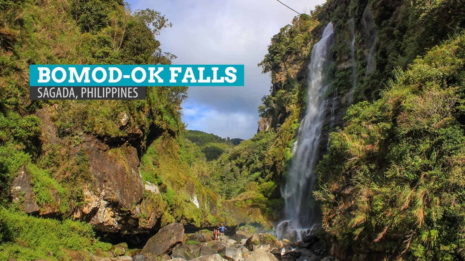 Over the Mountains to Bomod-ok Falls: Sagada, Philippines