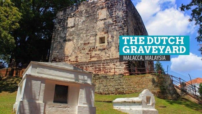 The Dutch Graveyard of Malacca, Malaysia