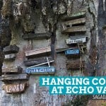 The Hanging Coffins at Echo Valley: Sagada, Philippines