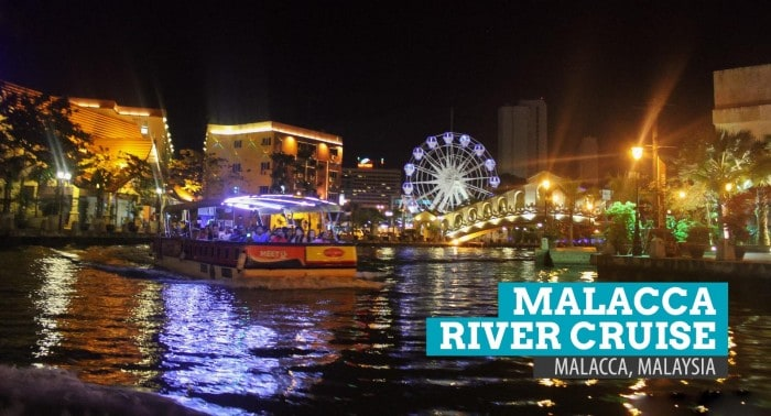 Melaka River Cruise, Malaysia: Through Lights and Colors