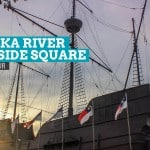 MELAKA RIVER QUAYSIDE SQUARE: A Walking Tour (Malaysia)