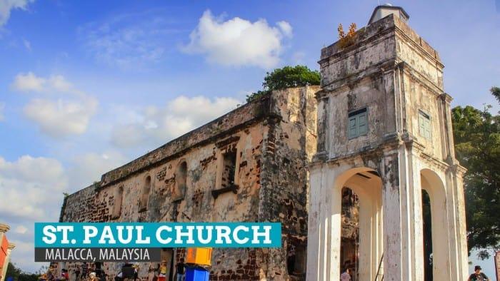 St. Paul Church and the Writings on the Wall: Malacca, Malaysia