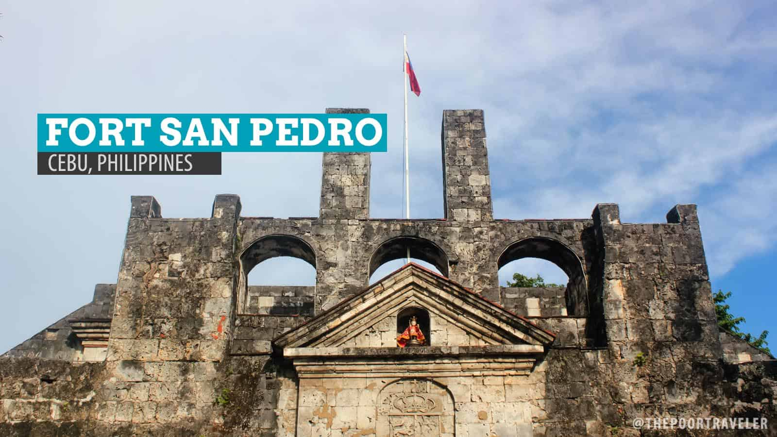 Cebu inside fort san pedro the oldest fort in the philippines the