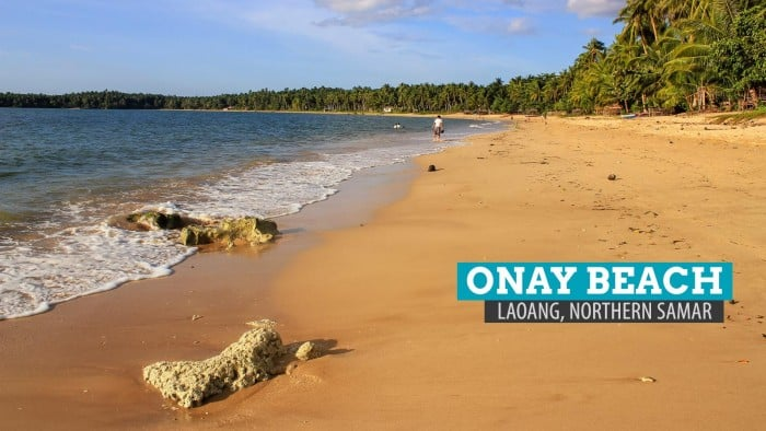 Onay Beach in Laoang Island, Northern Samar, Philippines