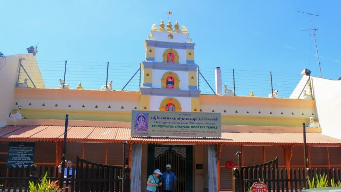 Sri Poyyatha Vinayagar Moorthi Temple in Malacca: Malaysia's Oldest Hindu Temple