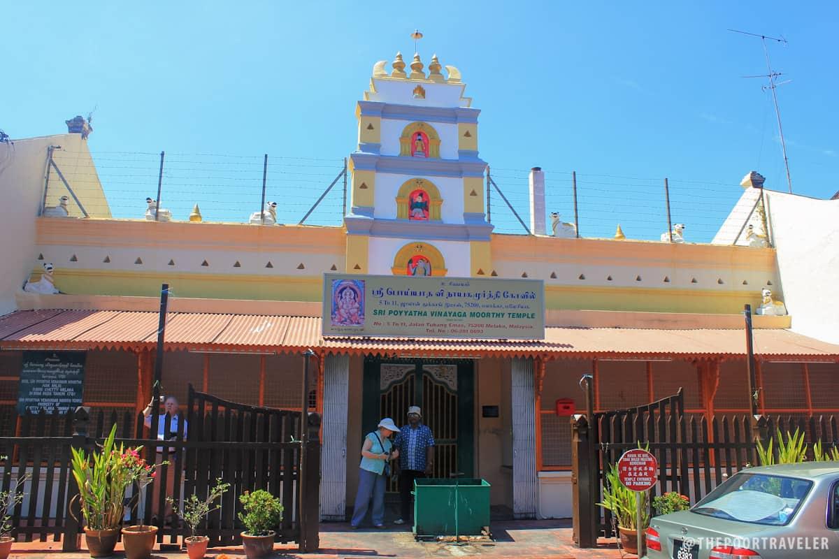 Sri Poyyatha Vinayagar Moorthi Temple, Malaysia's oldest Hindu temple