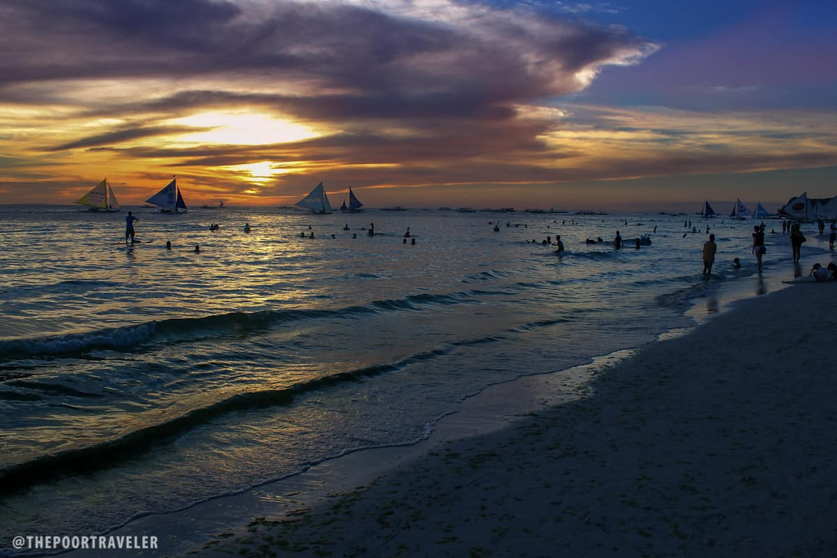 World Famous Boracay Sunset