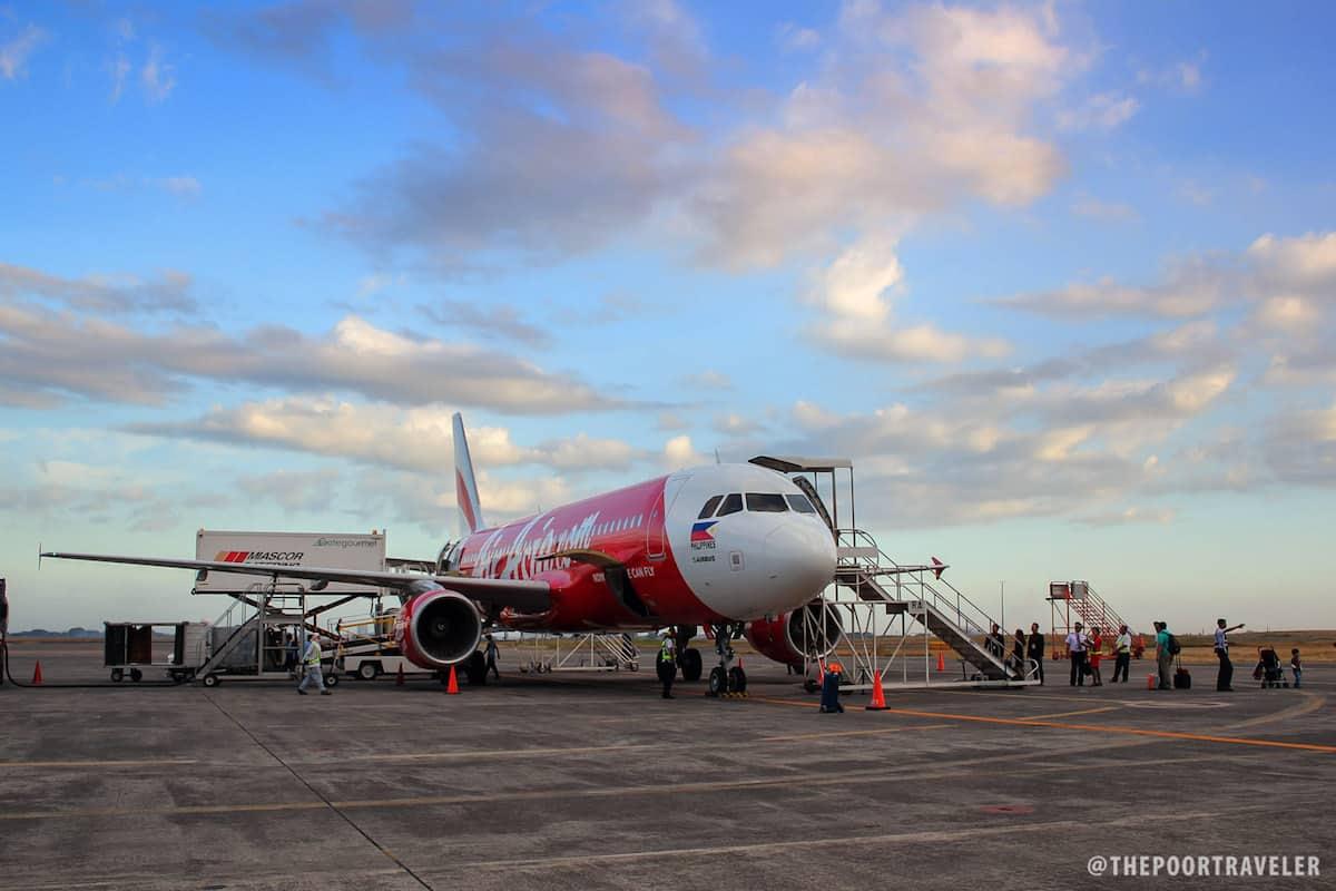 An AirAsia A320 plane