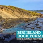 Biri Island Rock Formations: Northern Samar, Philippines