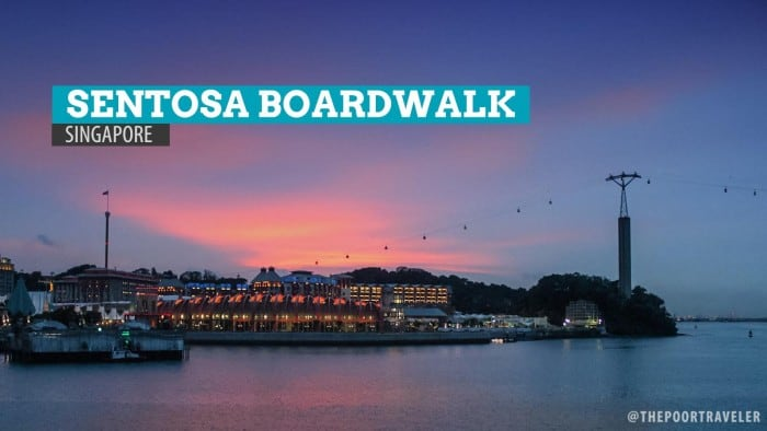 SENTOSA BOARDWALK: The Gateway to Singapore's Island Resort