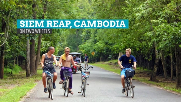 Biking Around Siem Reap, Cambodia