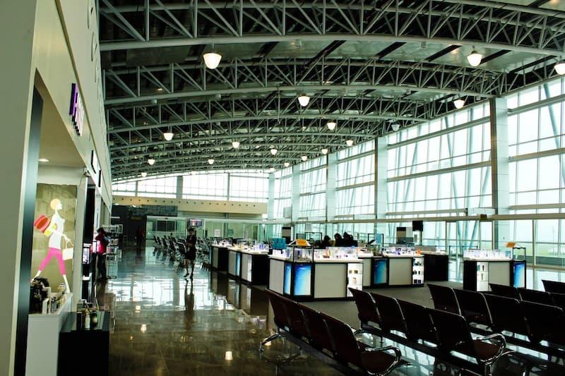 Departure Area at Clark Airport