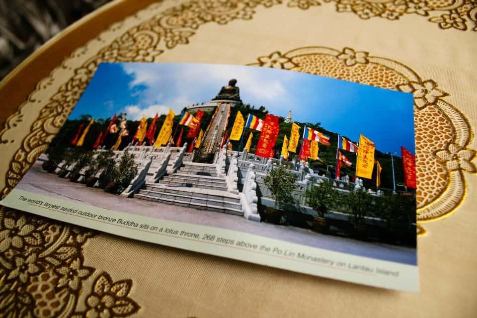 Ngong Ping postcard