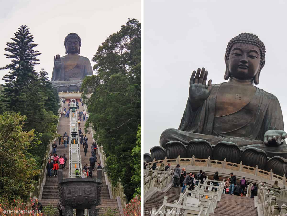 Ngong Ping Hong Kong Tian Tan Buddha And Po Lin