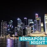 Singapore River Nightwalk: The Afterglow of the Chinese New Year