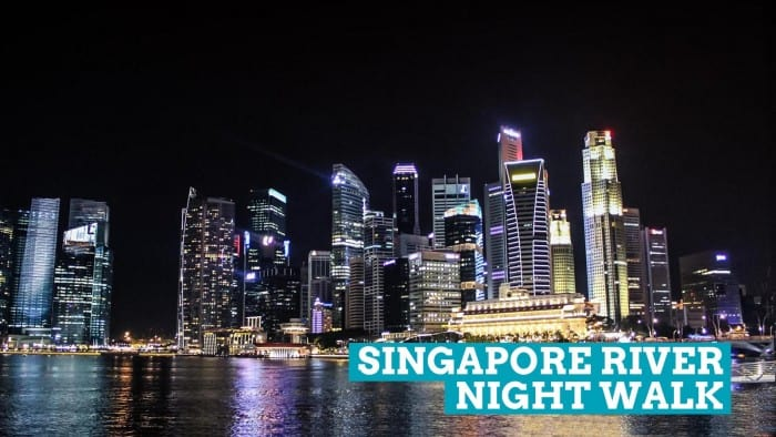 Singapore Night Walk