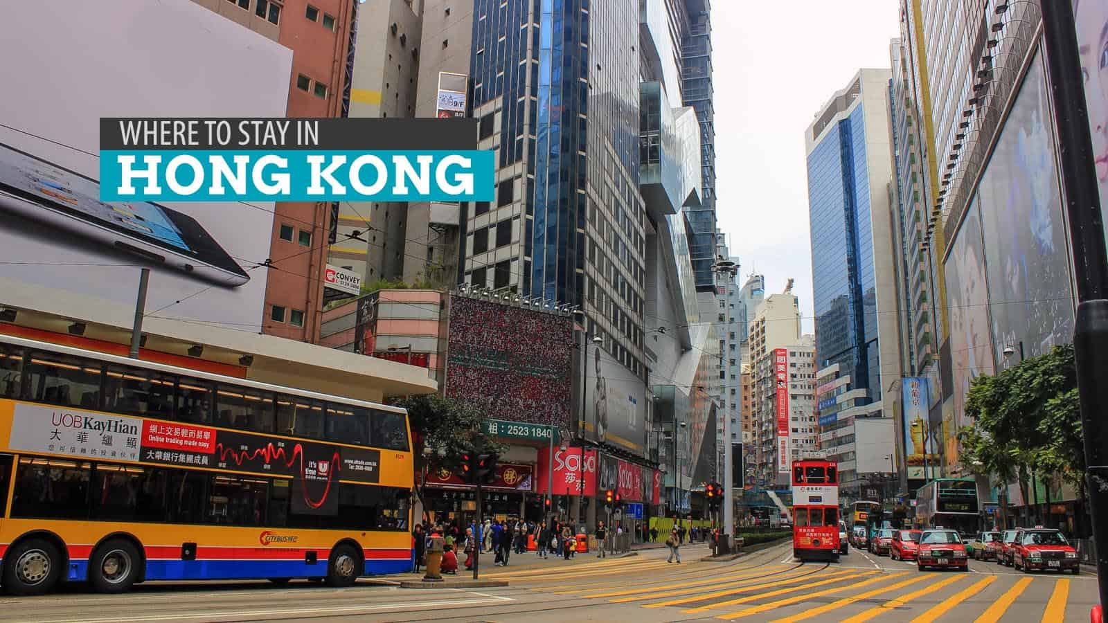 WHERE TO STAY IN HONG KONG: Cheap Hostels and Guesthouses