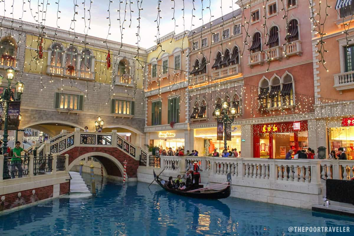 Venetian Food Court Restaurants Macau