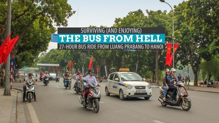 Bus from Hell: Surviving the 24-Hour Ride from Luang Prabang to Hanoi
