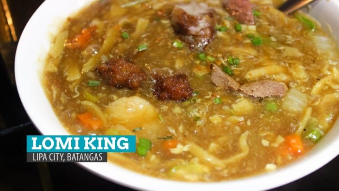 Lomi King: Where to Eat in Lipa, Batangas, Philippines