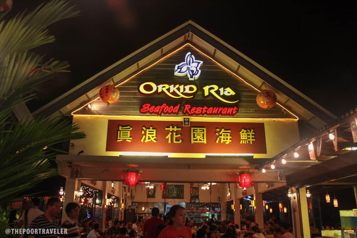 Orkid Ria Seafood Restaurant Langkawi Kedah Malaysia