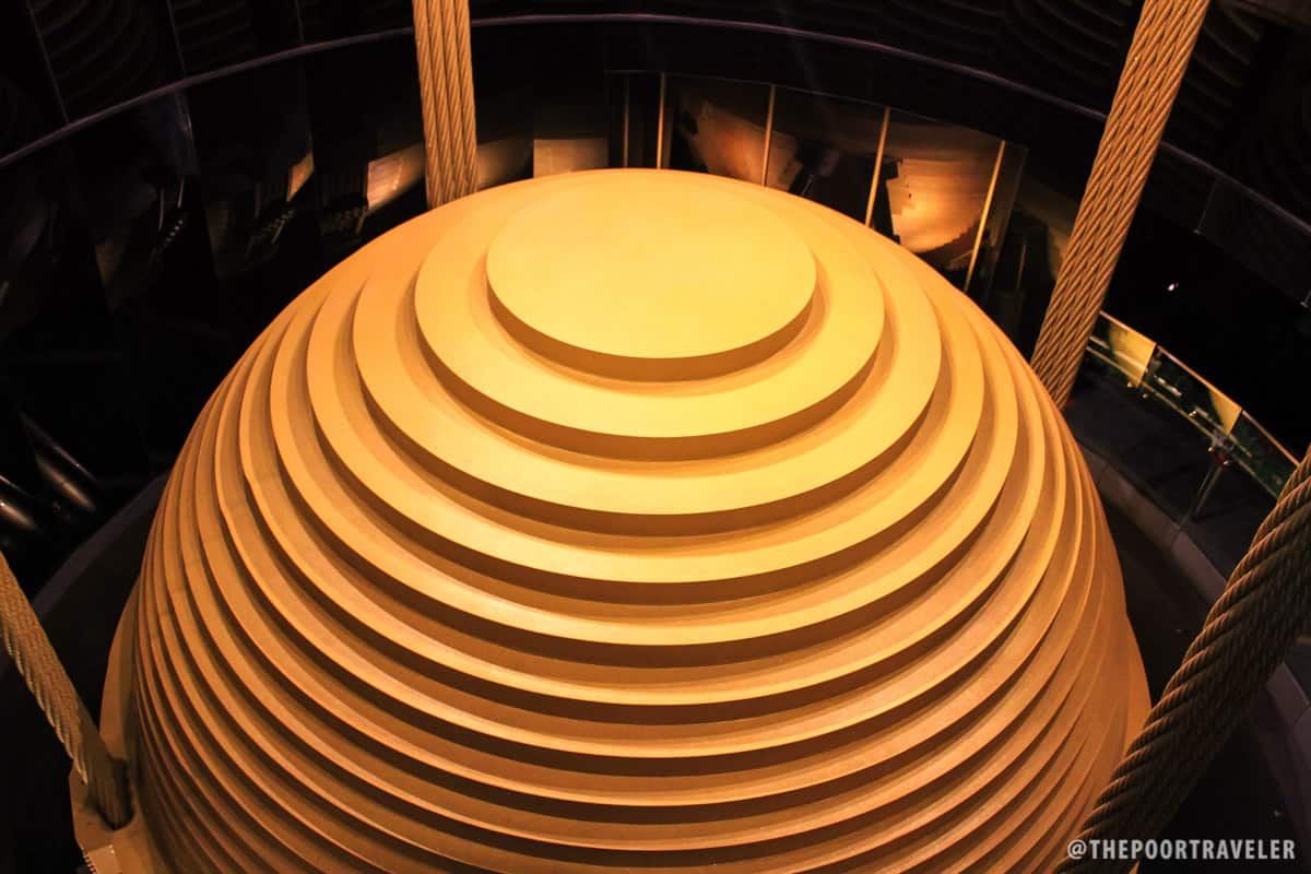 Taipei 101 reaching new heights in taiwan the poor for Taipei tower ball