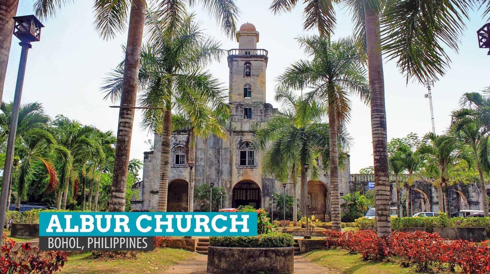St. Monica Church in Alburquerque, Bohol