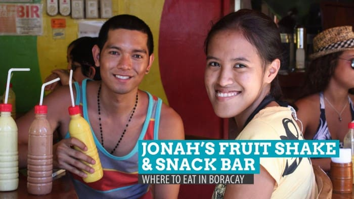 Jonah's Fruit Shake and Snack Bar: Where to Eat in Boracay, Philippines