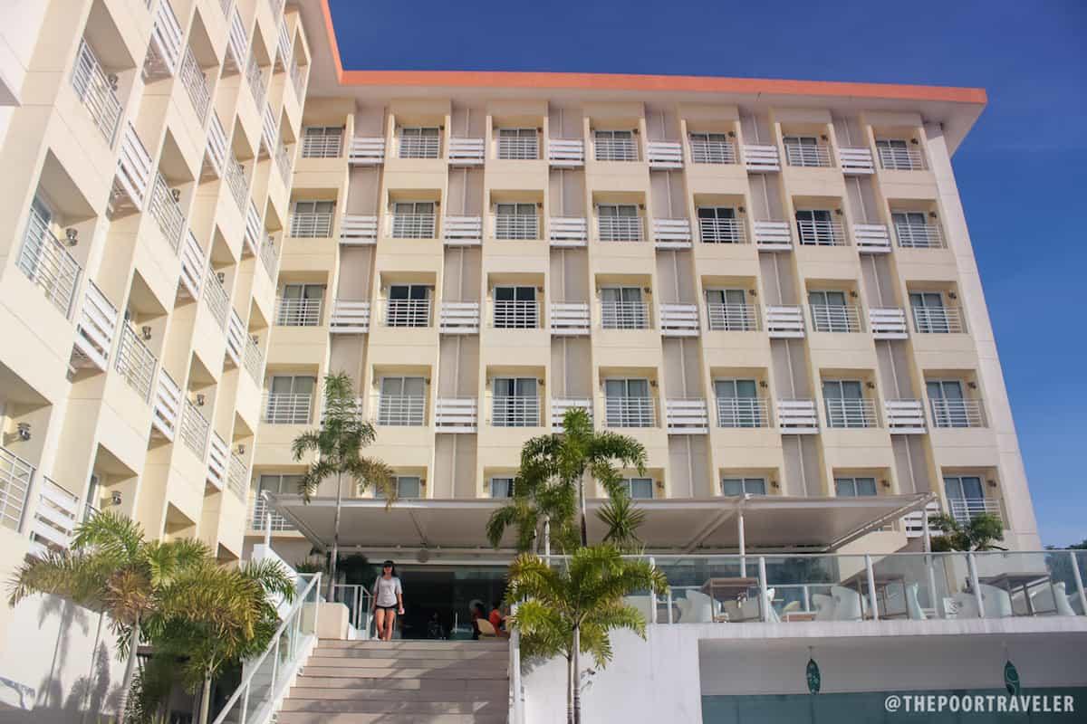 Facade of Be Resorts Mactan
