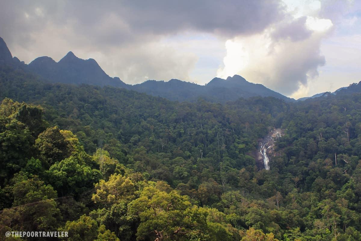 Waterfall No. 2 --- Seven Wells Falls aka Telaga Tujuh Falls