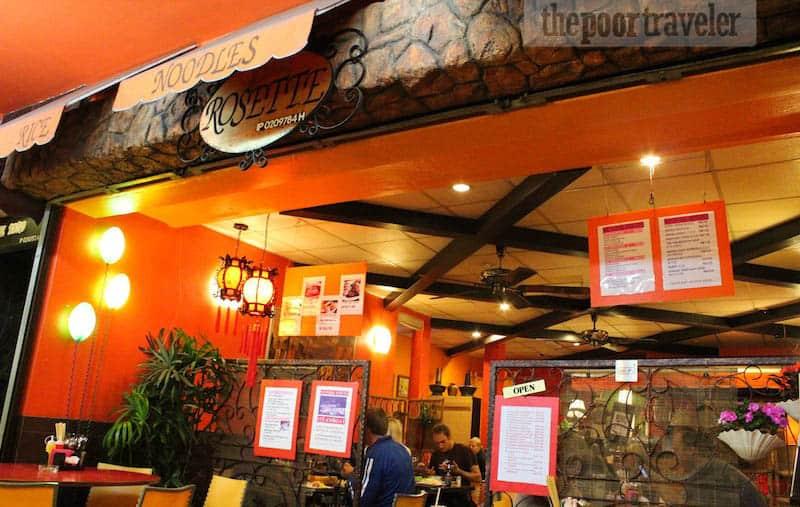 Facade of Rosette Cafe