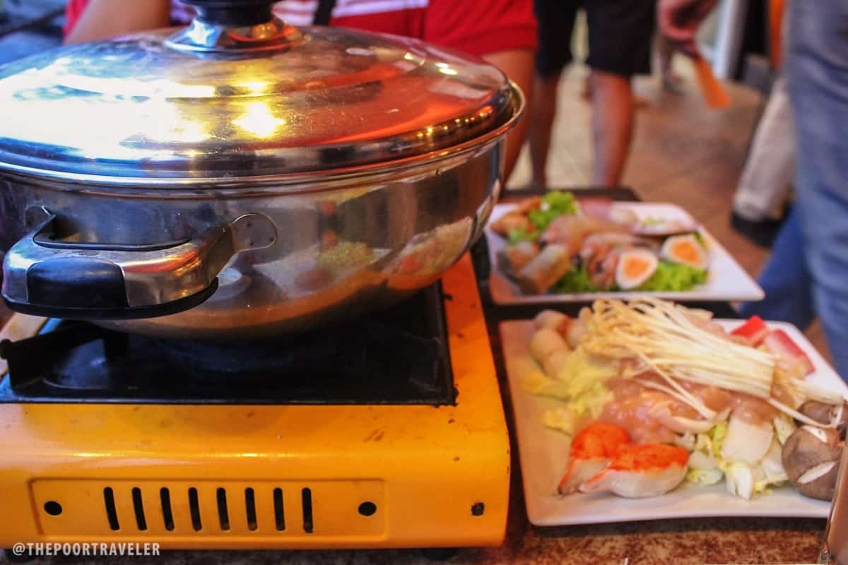 Big, big hot pot