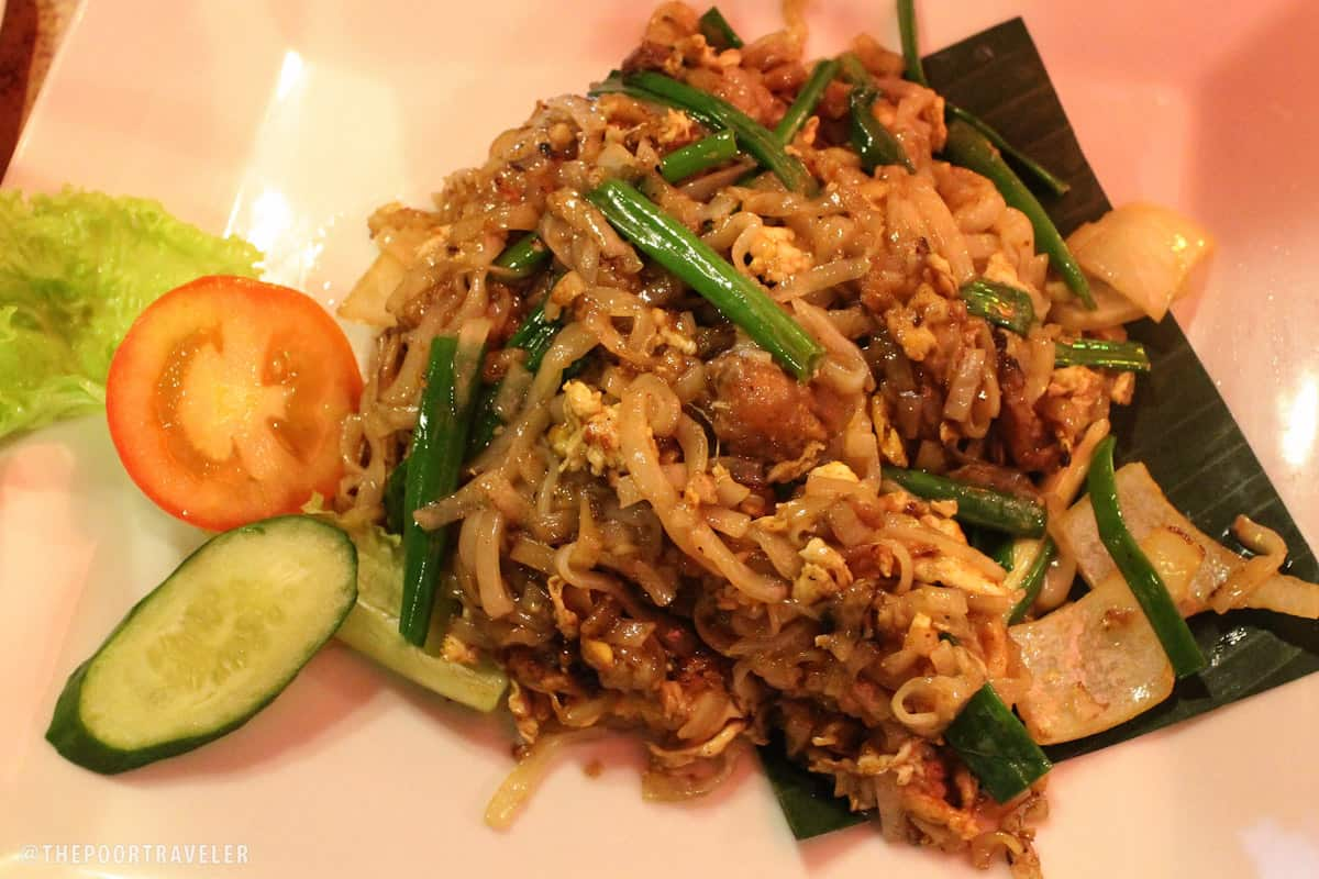 Venison fried kuay teow