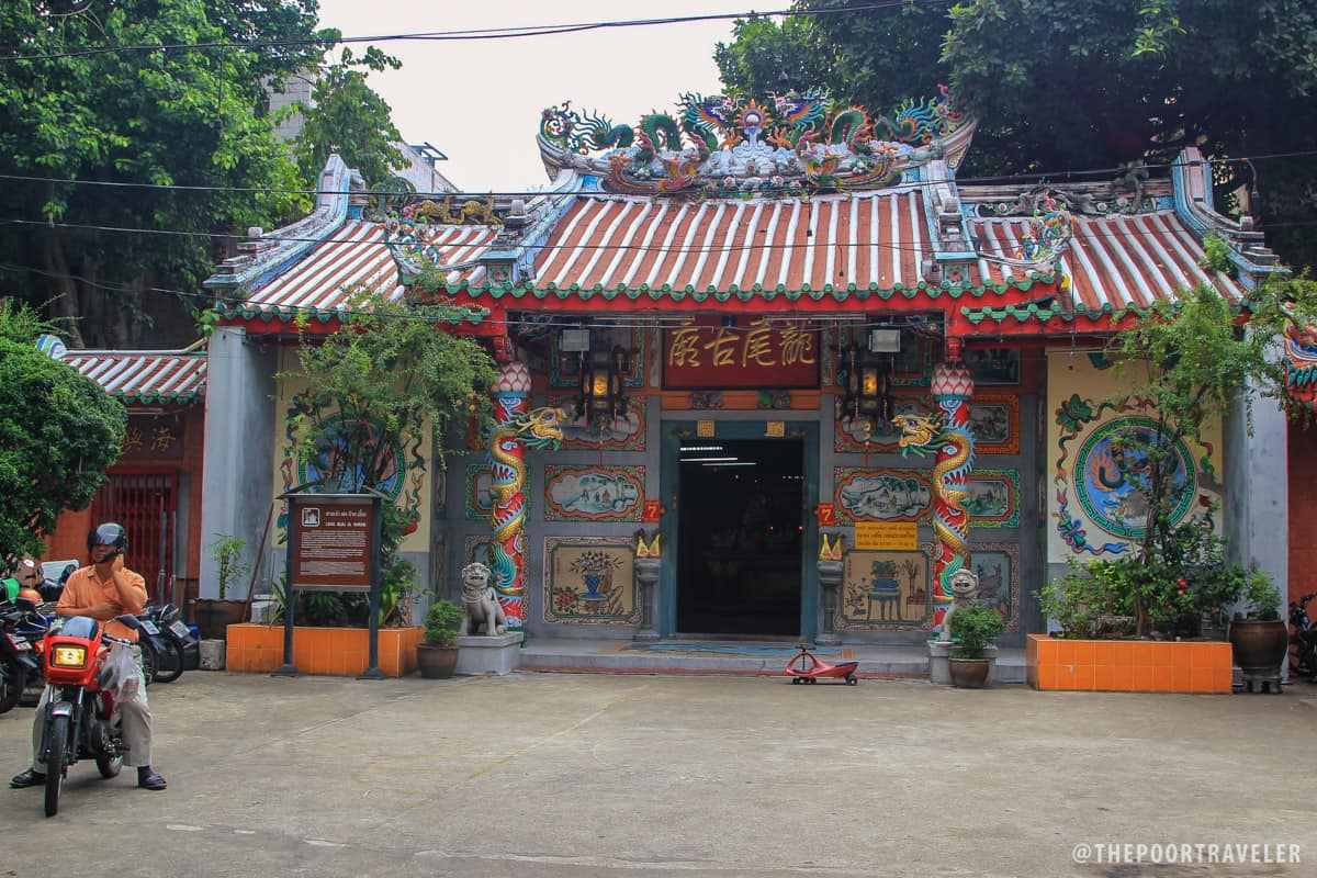 Leng Buai Ia Shrine, the oldest Chinese shrine in Thailand (built 1658).
