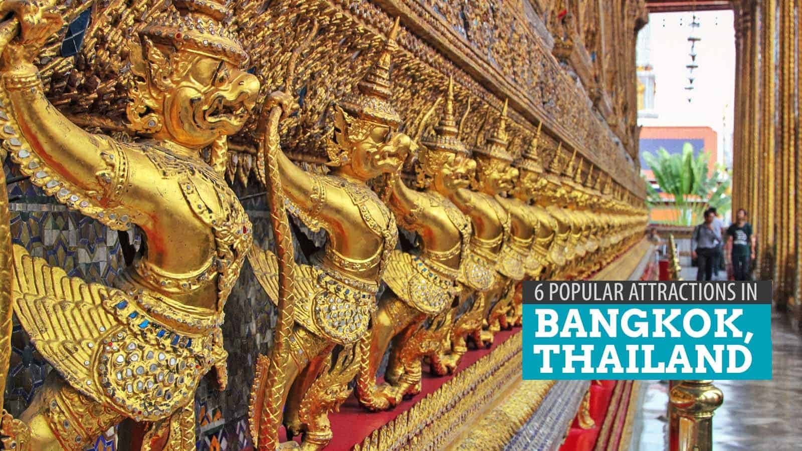 DIY BANGKOK TEMPLES & RIVER TOUR: 6 Popular Attractions