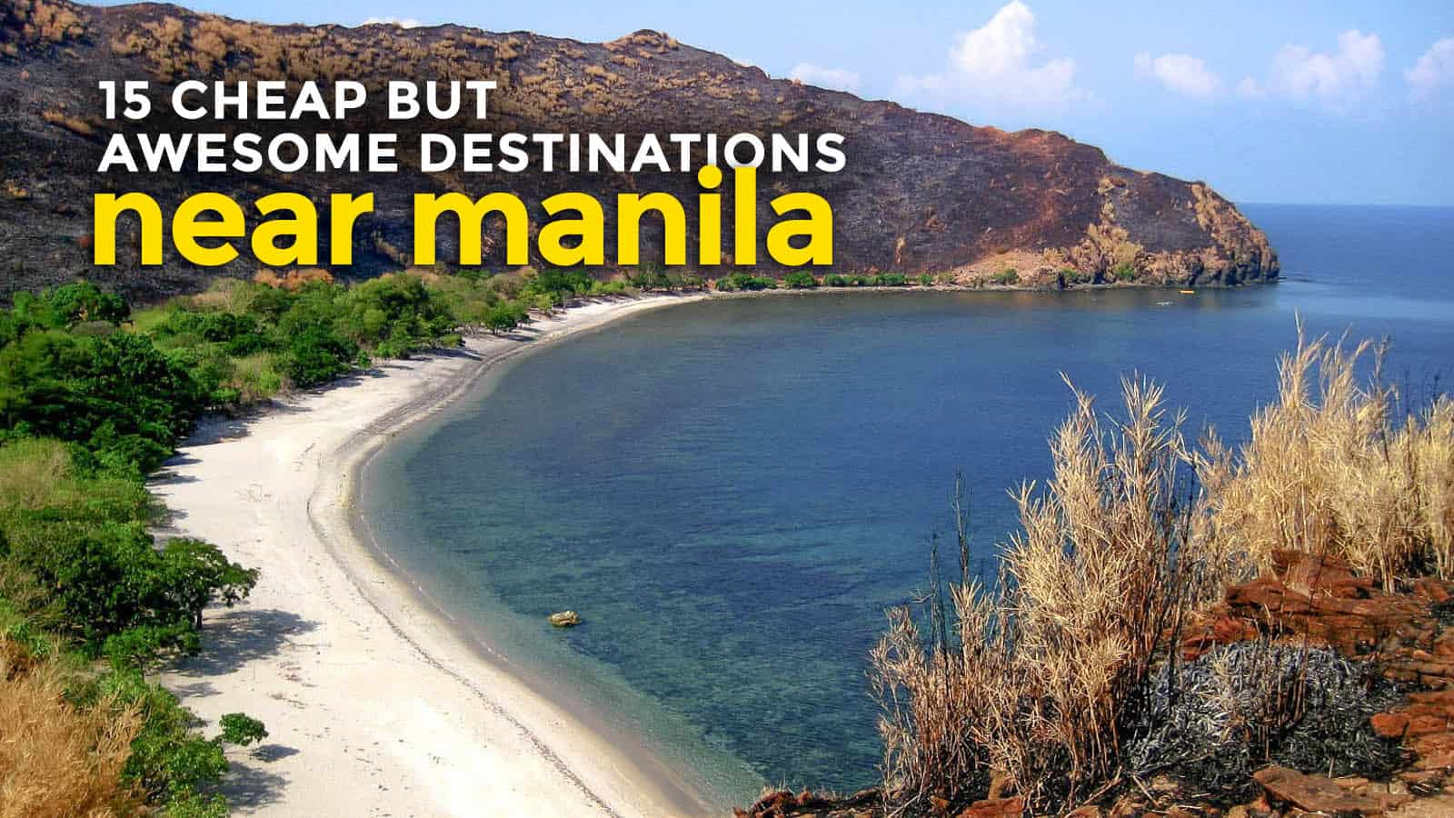 15 CHEAP BUT AWESOME Destinations Near MANILA