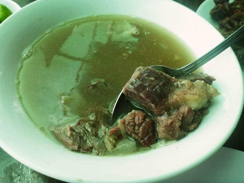 Batangas Goto (Beef Tripe Soup)
