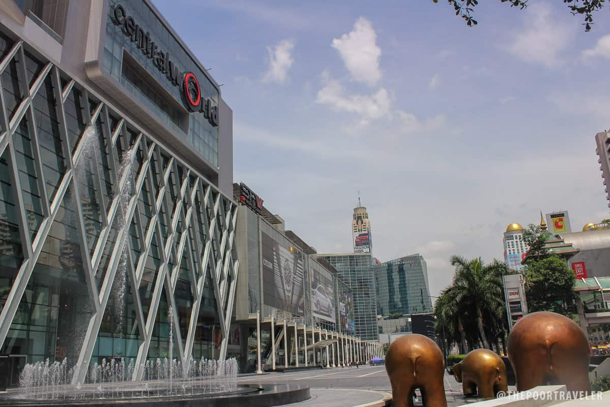 CentralWorld, Thailand's biggest mall