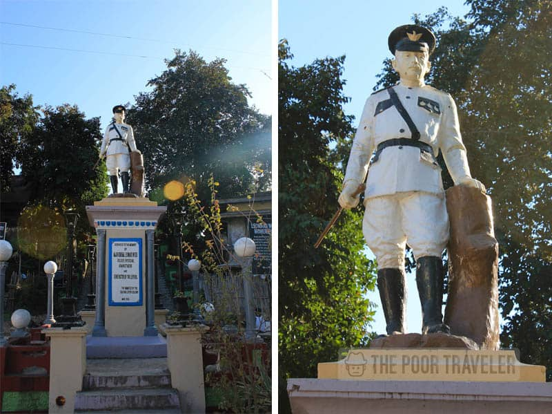Leonard Wood Monument. The patients were said to adore Governor General Leonard Wood that in 1931, they voluntarily erected this statue at the heart of Plaza Basa Avellana to honor him.
