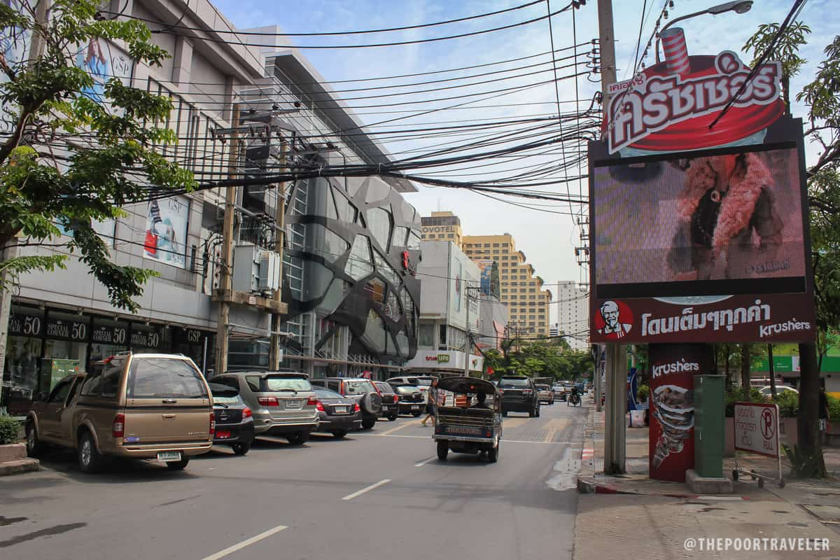 I was too early for Siam Square