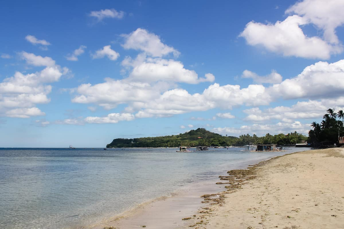 North end of Matabungkay beach