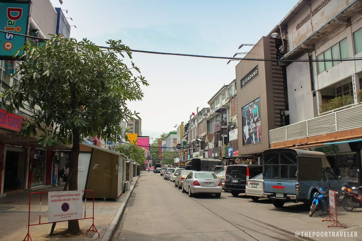 Siam Square still asleep