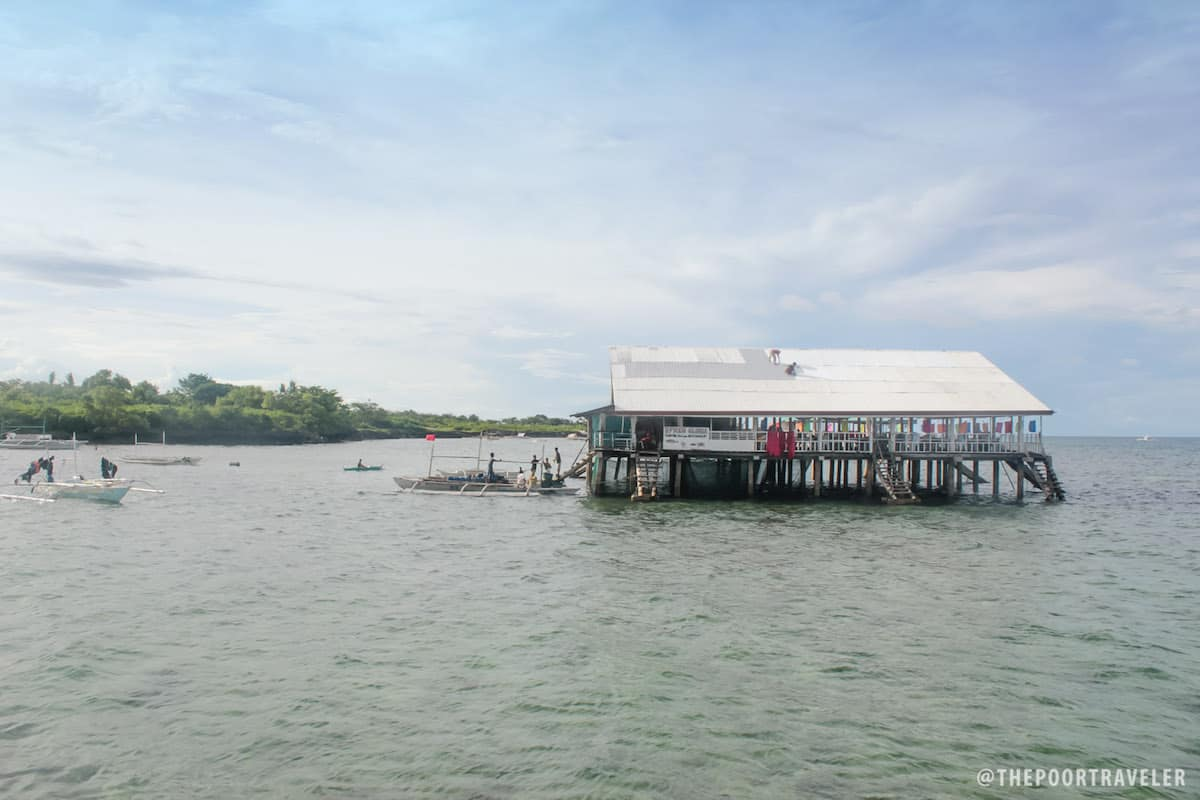 Another restaurant on stilts