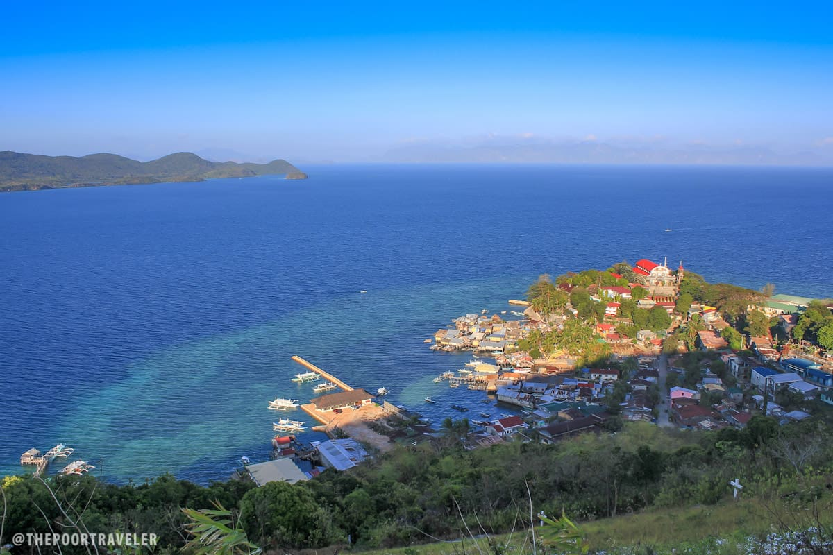 Culion Town as seen from Aguila viewpoint
